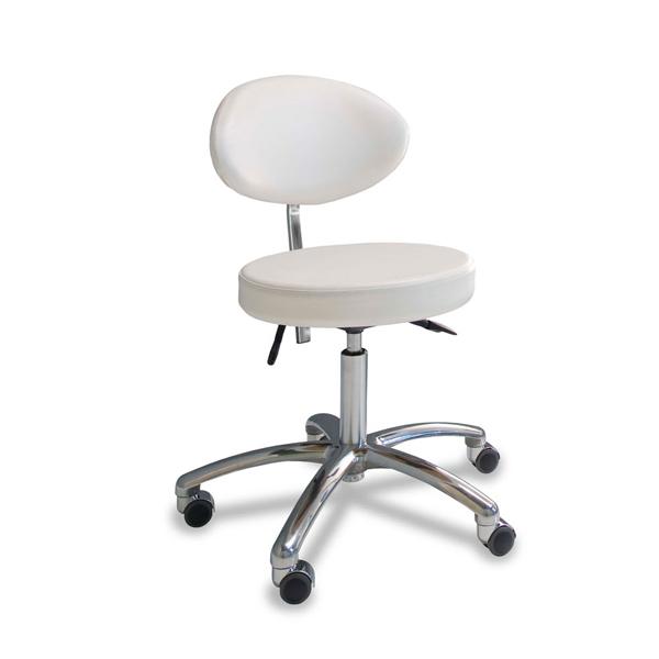 gharieni krzeselko z owalnym siedziskiem