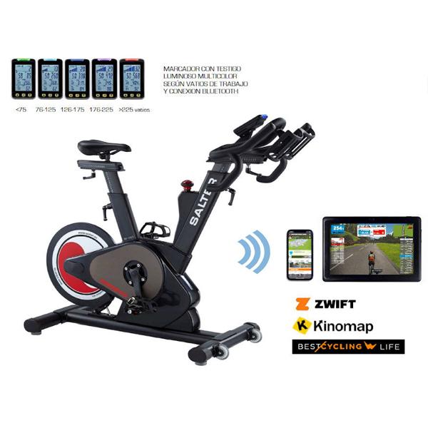 salter indoor bike bike k m  bluetooth